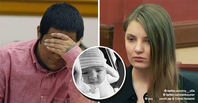 La mère, dont le bébé a été trouvé dans une couche infestée d'asticots, reste indifférente alors qu'elle est condamnée à perpétuité