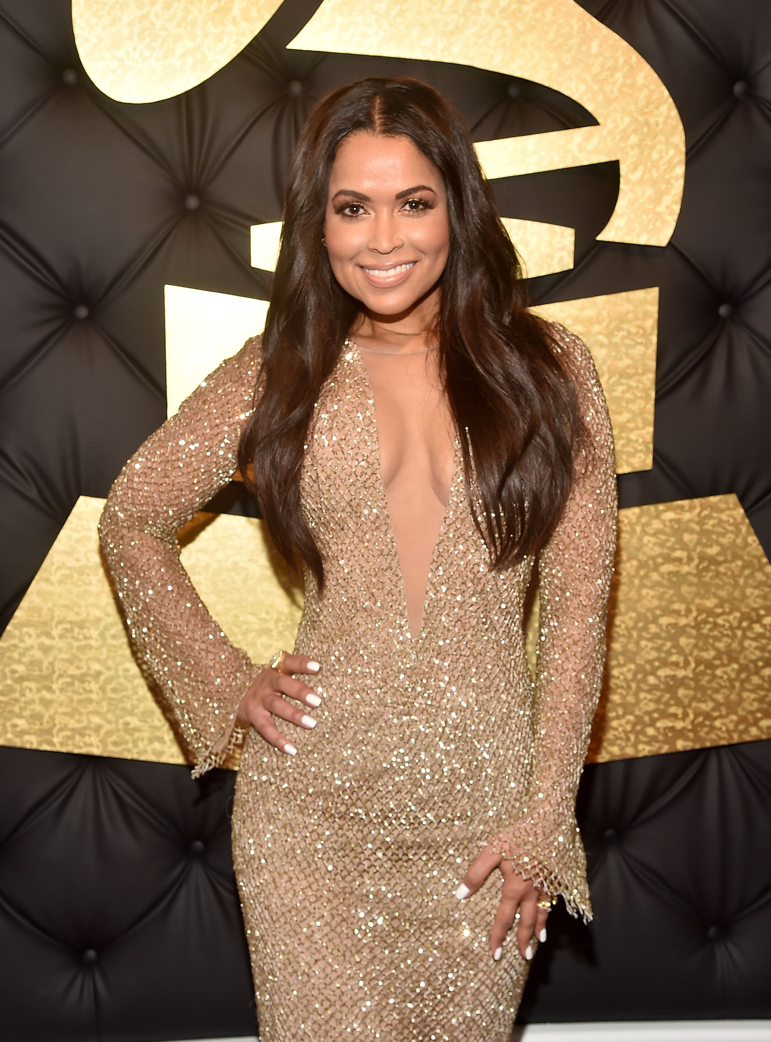 Tracey Edmonds attends The 59th GRAMMY Awards at STAPLES Center on February 12, 2017 in Los Angeles, California.| Source: Getty Images