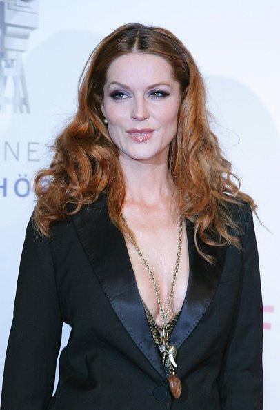 Esther Schweins, Goldene Kamera Award 2008 | Quelle: Getty Images
