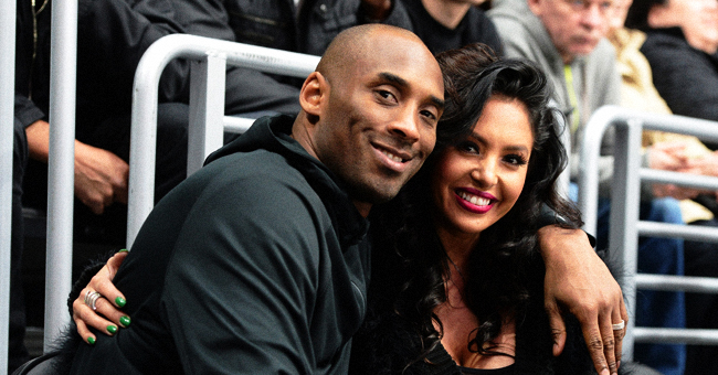 Los Angeles Lakers Kobe Bryant and Wife Share Family Photos with Their Daughters at Disneyland