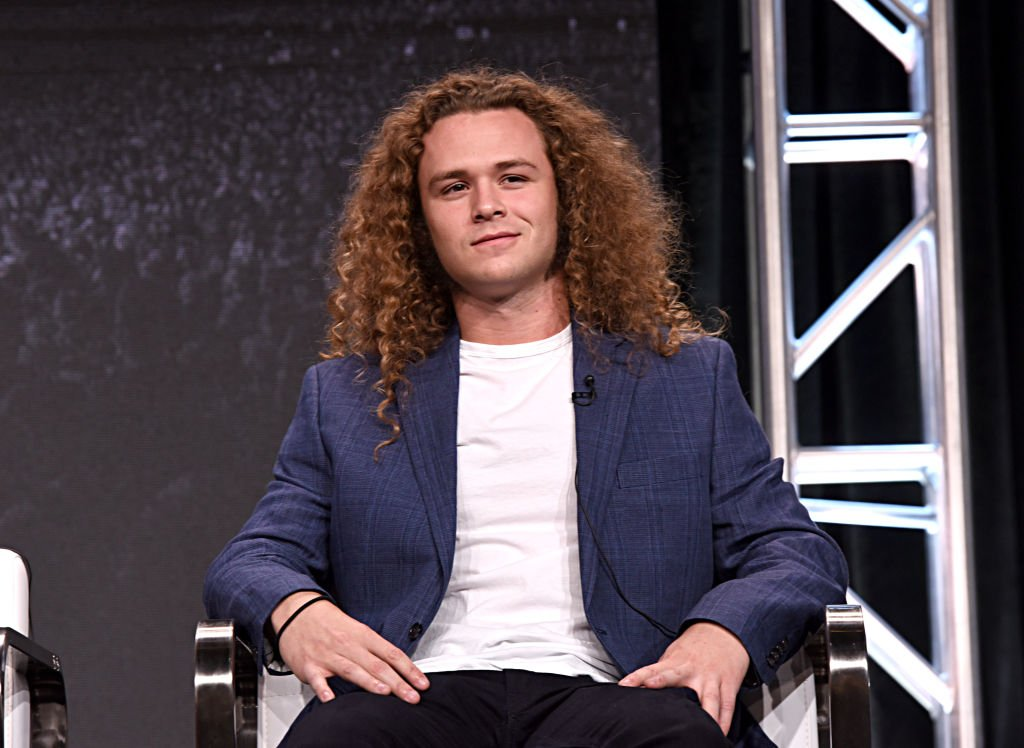 """Jack Perry, aka Jungle Boy at the """"All Elite Wrestling"""" panel during the TBS + TNT Summer TCA, July 2019 