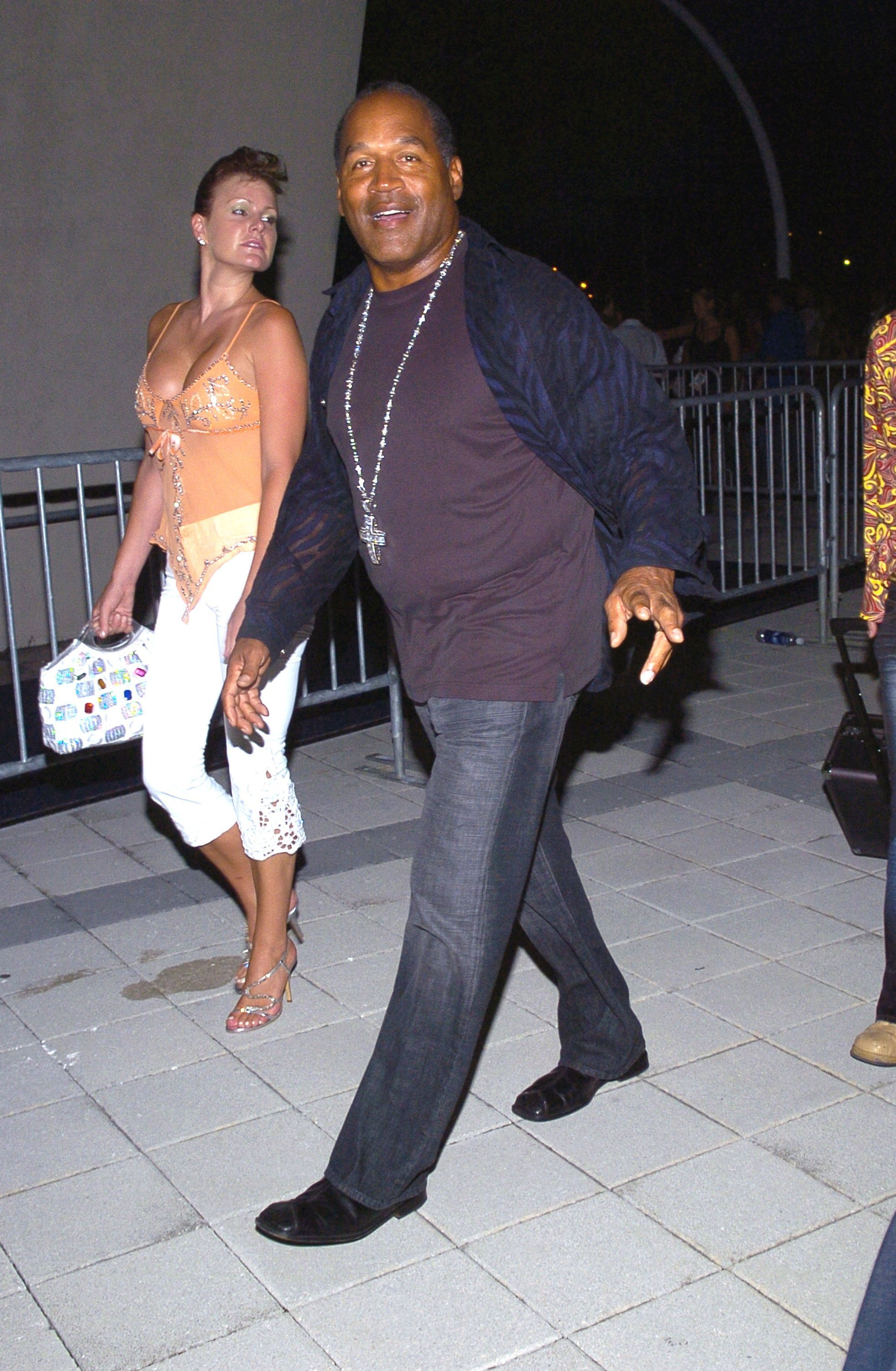 OJ Simpson arriving at MTV's VMA's in 2005. | Photo: Getty Images