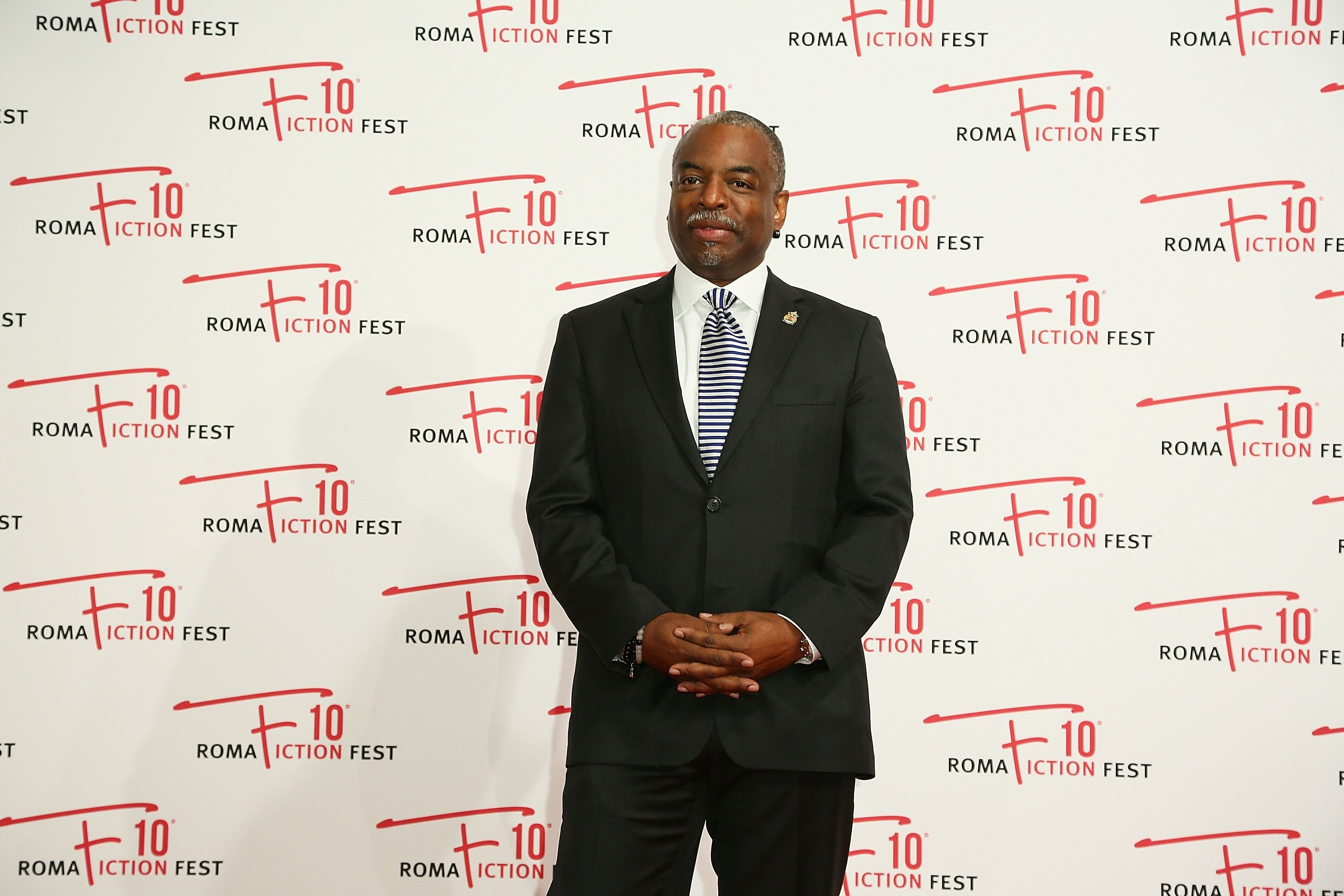 LeVar Burton at the 'Roots' red carpet on December 8, 2016 in Rome. | Photo: Getty Images