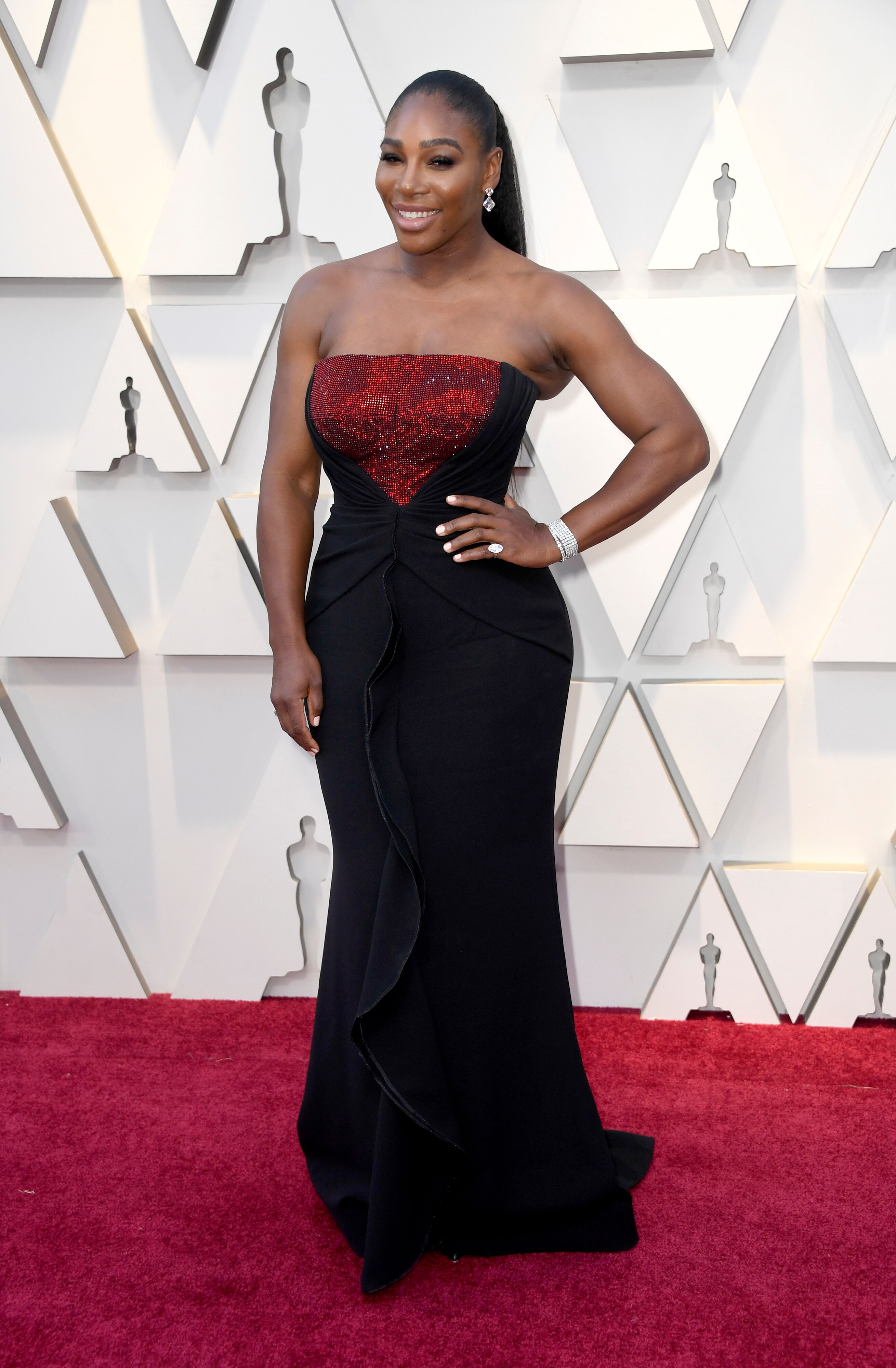 Serena Williams at the Academy Awards/ Source: Getty Images