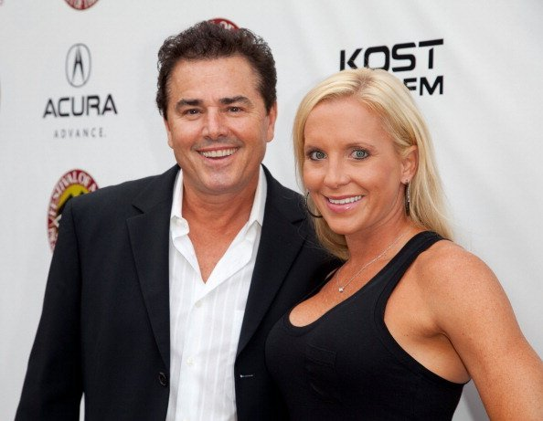 Actor Christopher Knight and Cara Kokenes attend Laguna Beach Festival Of Arts' Pageant Of The Masters on August 25, 2012 in Laguna Beach, California | Photo: Getty Images