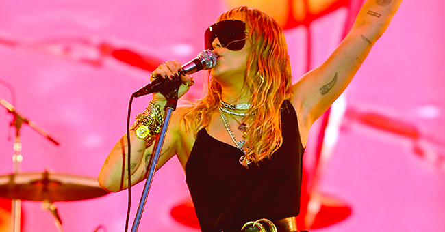 Miley Cyrus Looks like a Rock Star at Her Bbc Radio 1 Big Weekend Performance
