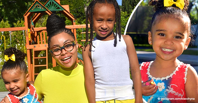 Dream Kardashian Rocks Rainbow Dress in Pics with Brother and Mom Blac Chyna