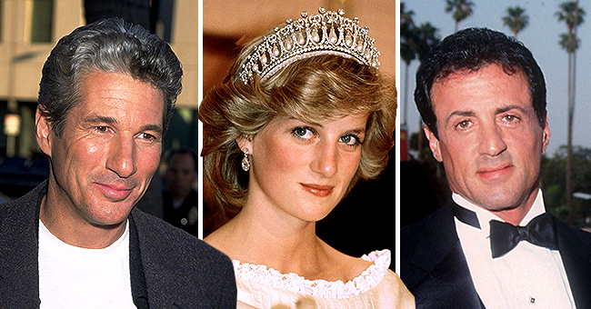 Elton John Reveals Richard Gere & Sylvester Stallone Almost Got into a Fistfight over Princess Diana in New Memoir