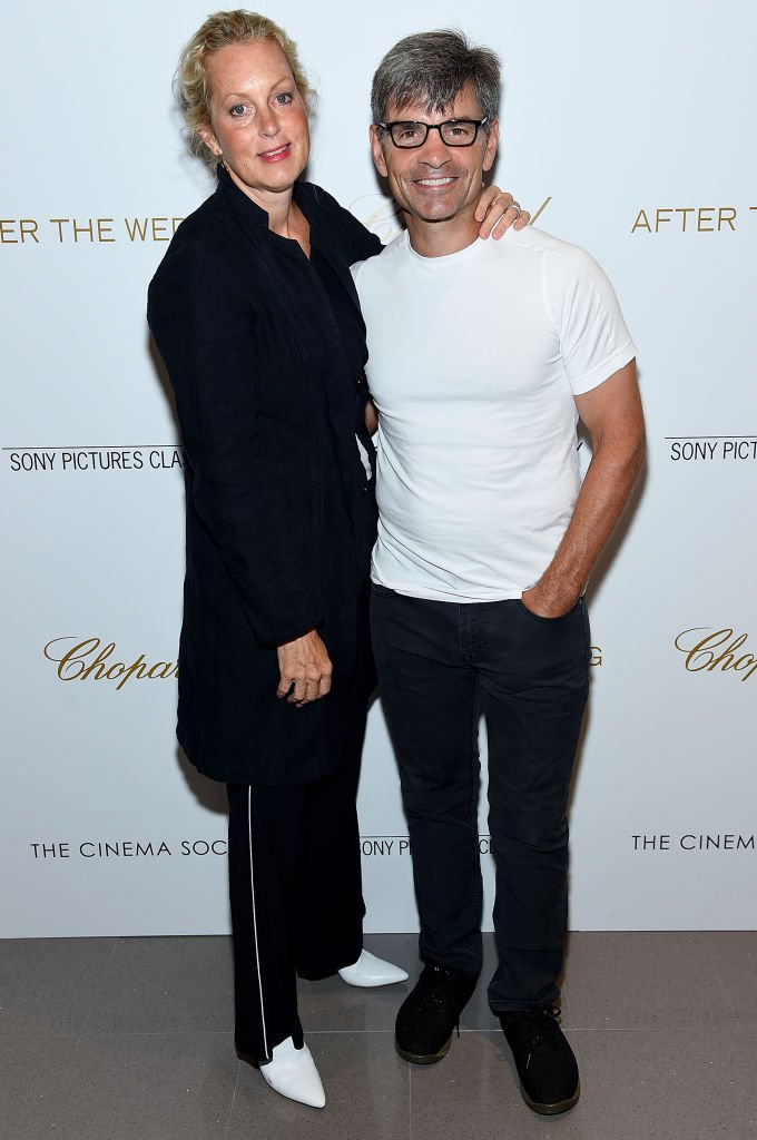 """Ali Wentworth and George Stephanopoulos attend """"After The Wedding"""" New York Screeningat Regal Essex  
