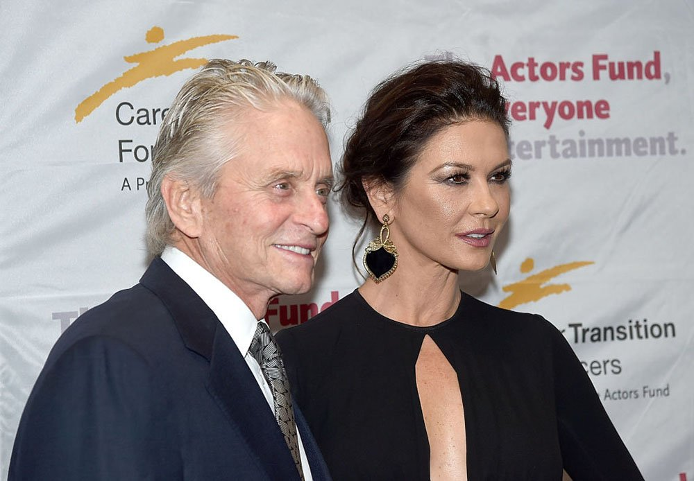 Catherine Zeta-Jones and Michael Douglas I Image: Getty Images