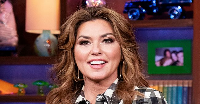 Shania Twain Shares Rare Photo with Her Husband and They Look So in Love