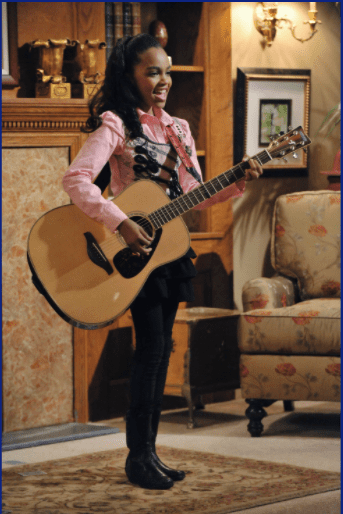 """12-year-old China McClain playing Chyna Sparks on the pilot episode of """"A.N.T. Farm""""   Photo: Getty Images"""