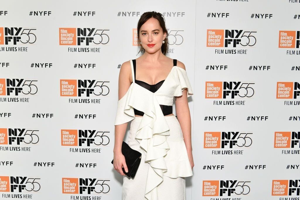Dakota Johnson at the NYFF red carpet. | Source: Getty Images