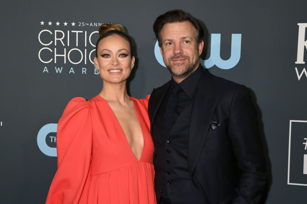 Olivia Wilde and Jason Sudeikis at the 25th Annual Critics' Choice Awards , January 2020   Source: Getty Images