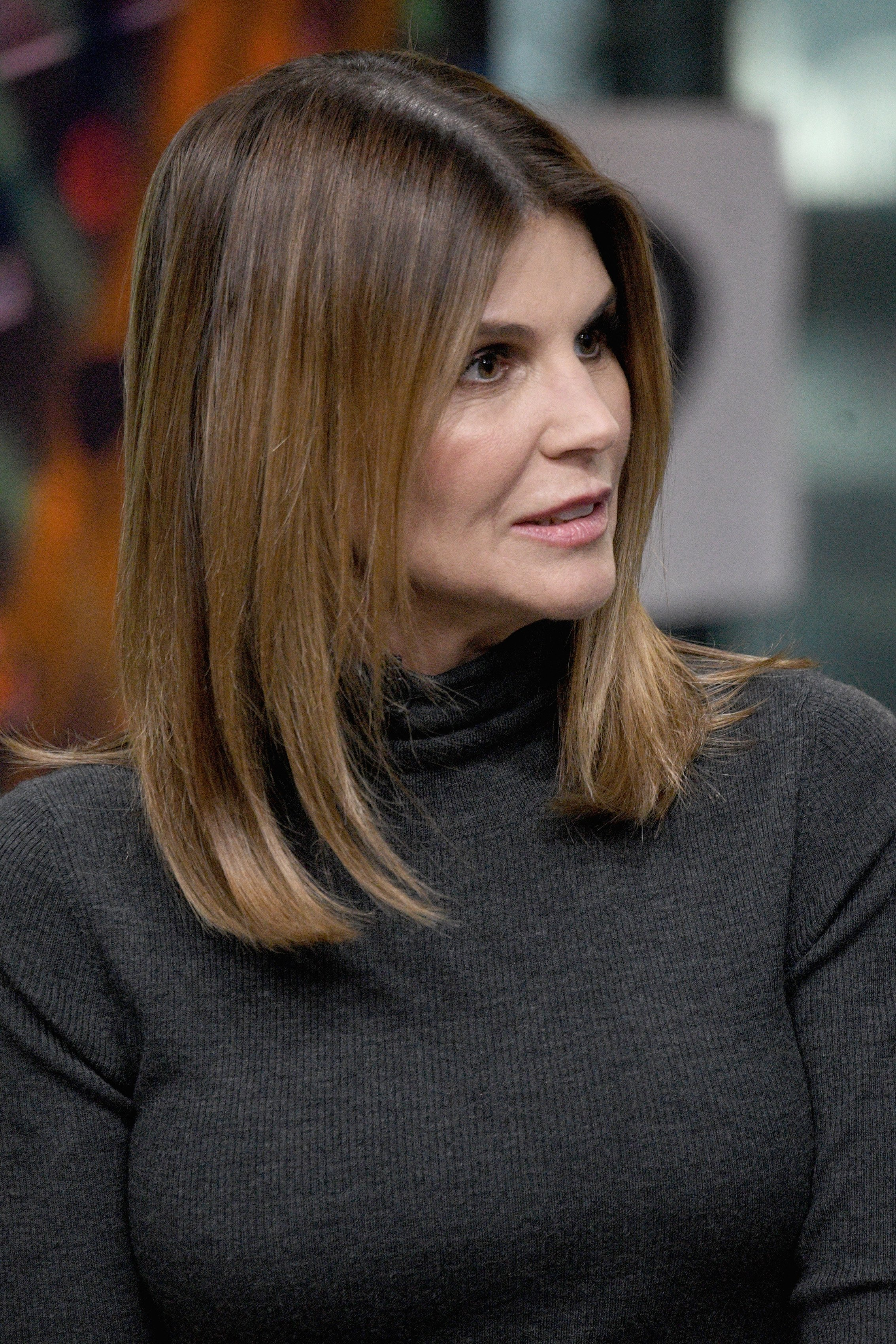 Lori Loughlin explaining herself | Source: Getty Images