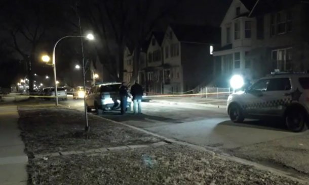 Crime scene/ Source: Youtube/ WGN News