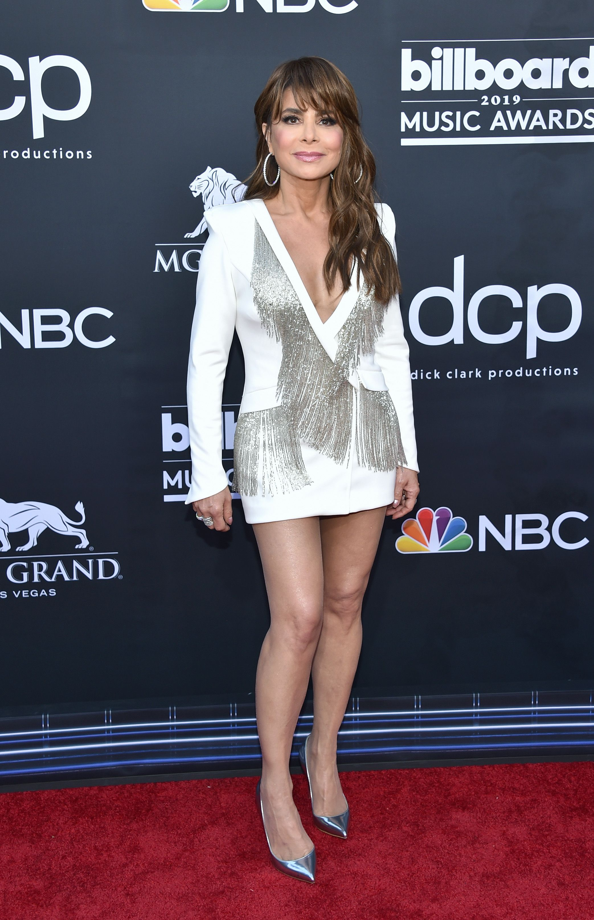 Paula Abdul at the Billboard Music Awards at MGM Grand Garden Arena on May 1, 2019, in Las Vegas, Nevada | Photo: John Shearer/Getty Images