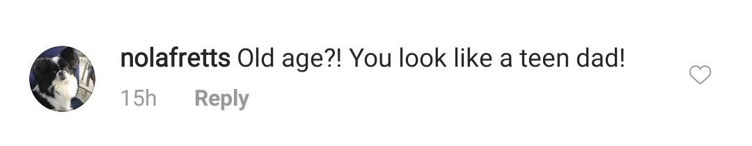A fan's comment under a picture posted by Todd Chrisley on his Instagram page. | Photo: Instagram/@toddchrisley