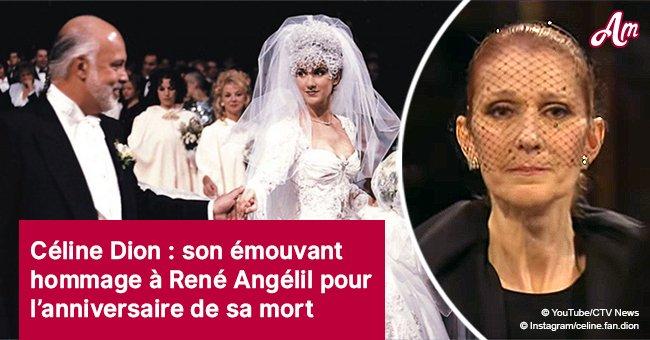 «Tu es toujours avec moi» Céline Dion rend un hommage émouvant à son mari décédé