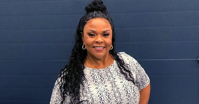 Tamela Mann's Daughter Tia Pours Her Slimmer Curves into Trendy Nude Pants & a Black Shirt