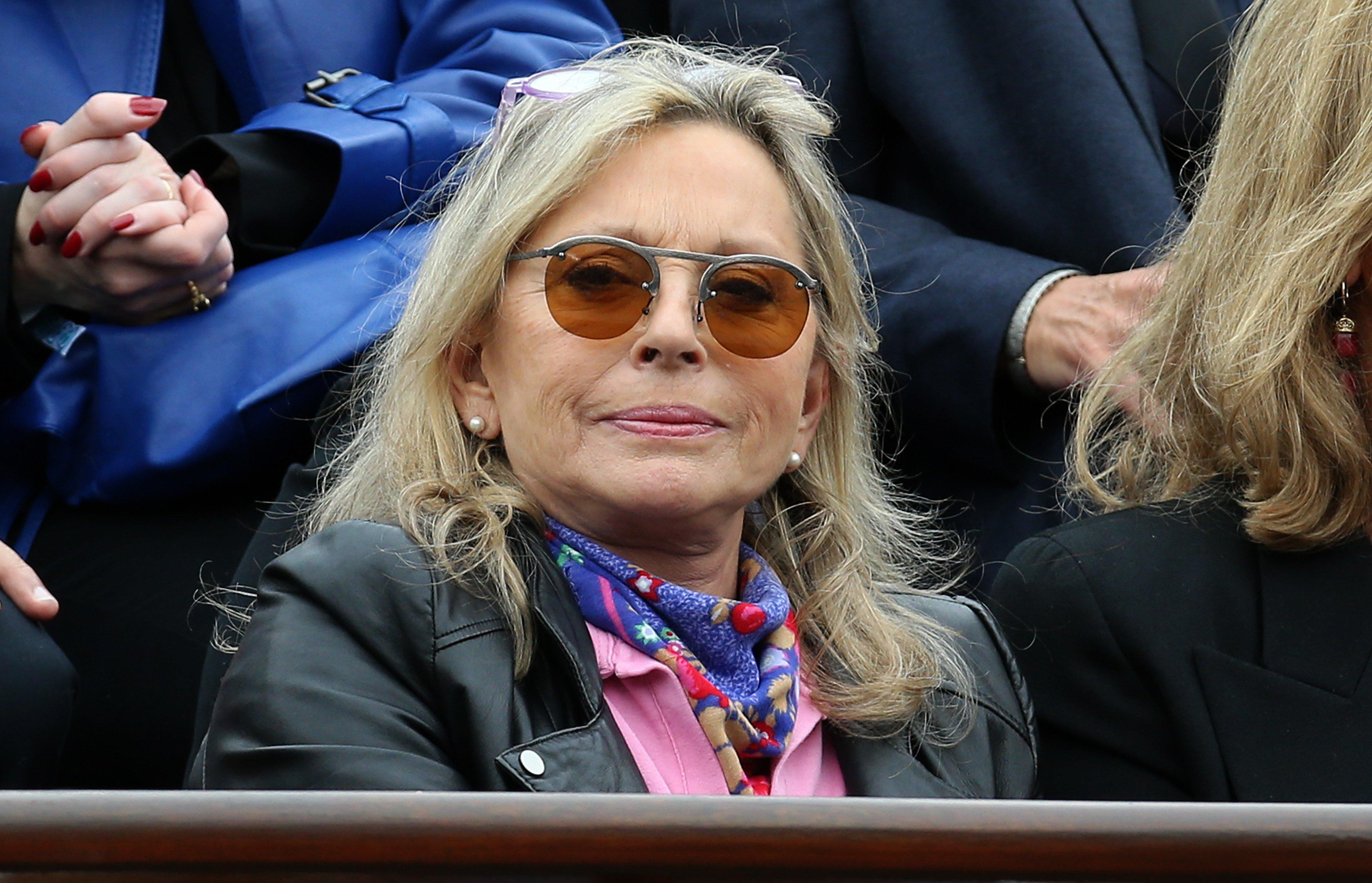 Véronique Sanson participe à la 10e journée de Roland-Garros 2014, à Paris, France | Photo : Getty