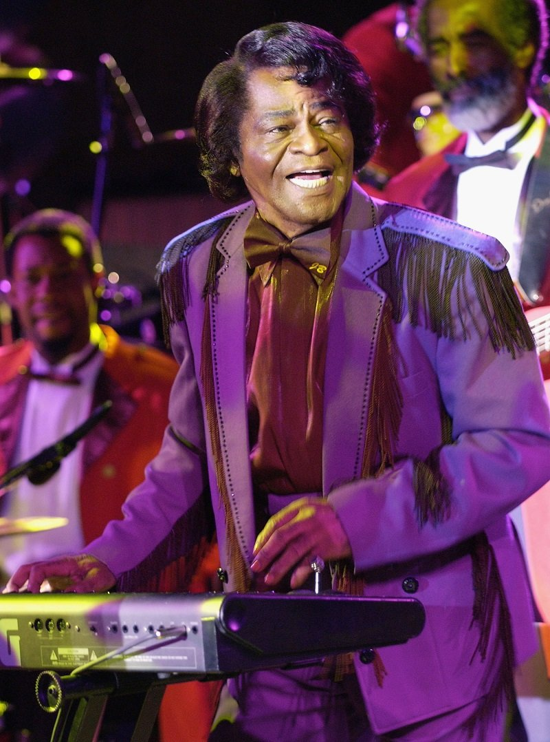 James Brown on stage at the Masson Mountain Winery on May 20, 2004 in Saratoga, California | Photo: Getty Images