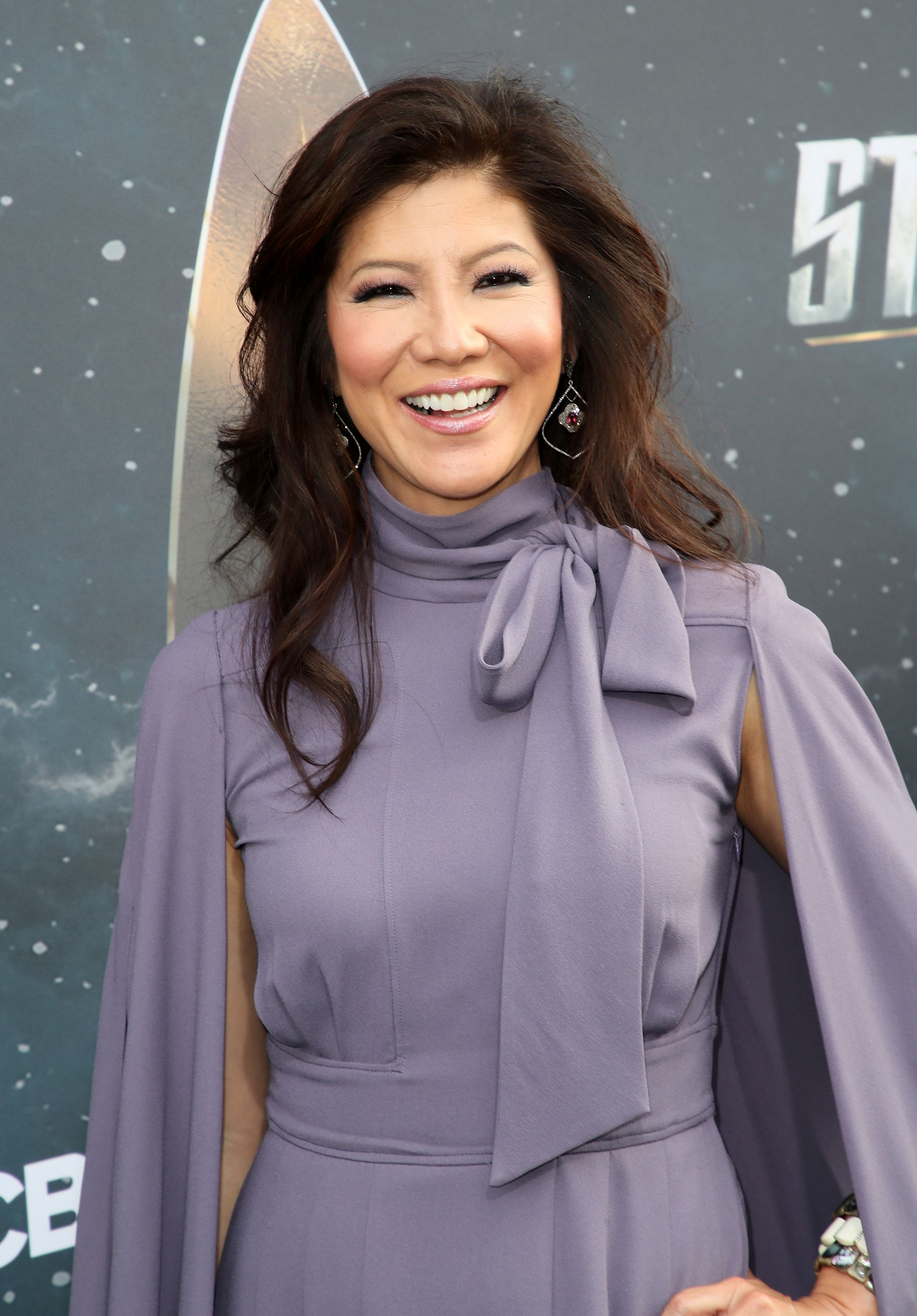 """Julie Chen during the premiere of CBS's """"Star Trek: Discovery"""" at The Cinerama Dome on September 19, 2017 in Los Angeles, California. 
