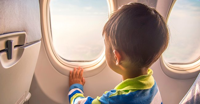 Daily Joke: Little Johnny Gets Frustrated with an Annoying Passenger on the Plane