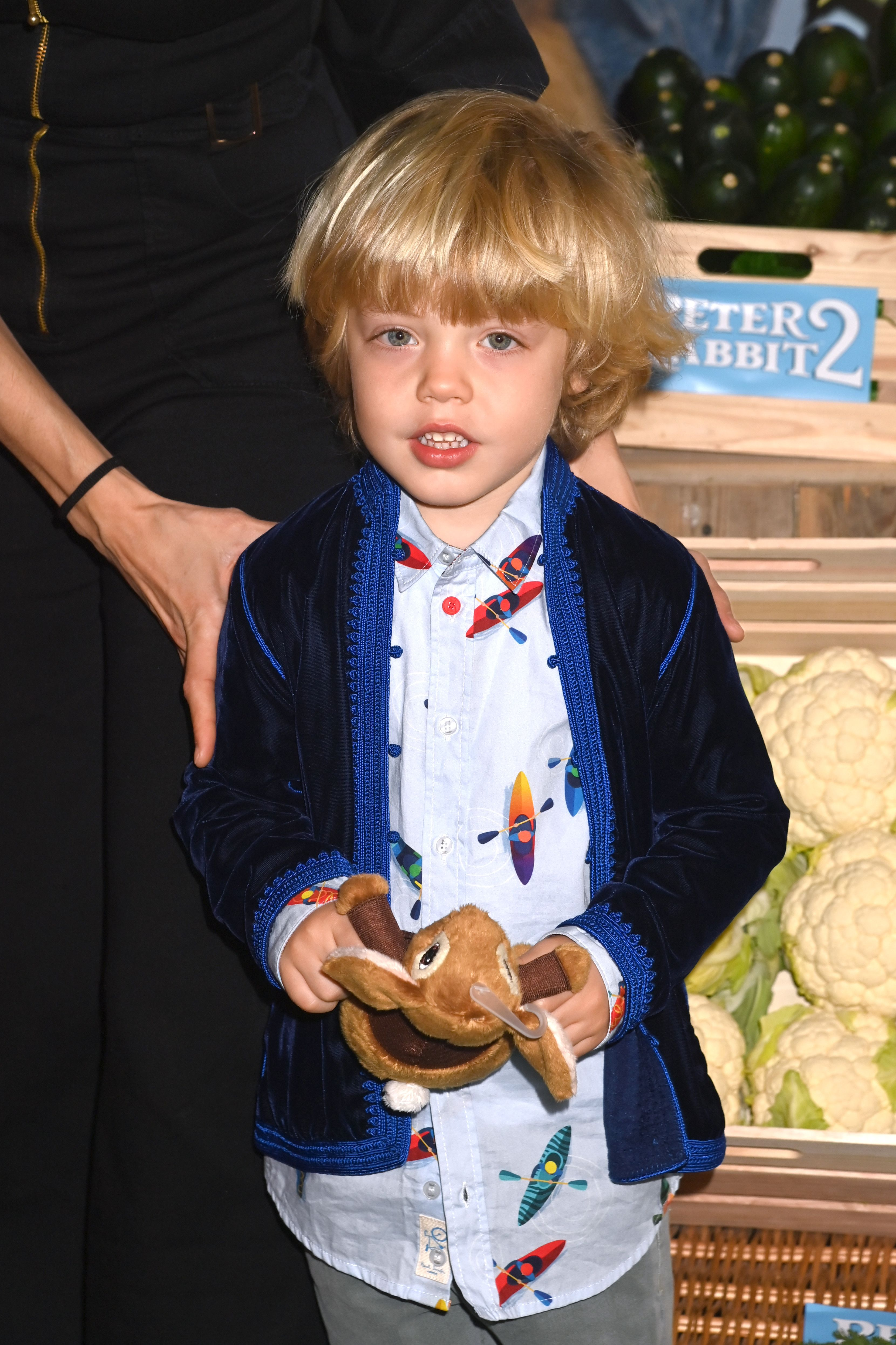 """Mick Jagger's son Dev Jagger attends the """"Peter Rabbit 2"""" UK Gala Screening at Picturehouse Central on May 23, 2021   Photo: Getty Images"""