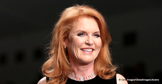 Sarah Ferguson Steals the Spotlight in a Short Black Skirt during Her Latest Appearance