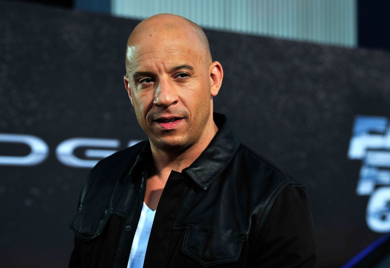 "Vin Diesel at the Premiere Of Universal Pictures' ""Fast & Furious 6"" on May 21, 2013 in Universal City, California 