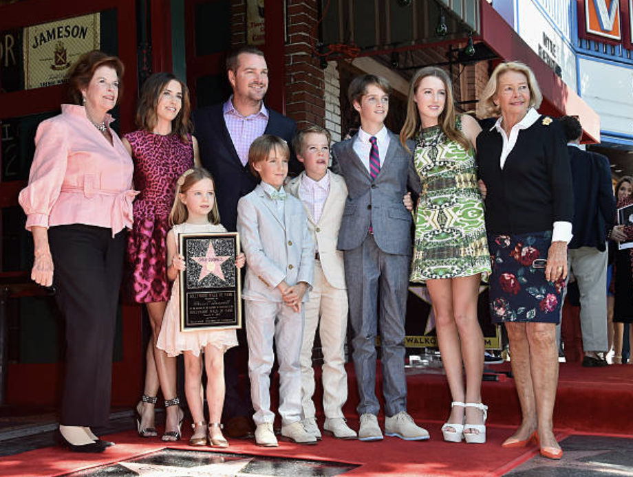 Chris O'Donnell and family attend a ceremony honoring Chris O'Donnell with the 2544th Star on Hollywood Walk Of Fame on March 5, 2015 in Hollywood, California. Image Credit: Getty Images