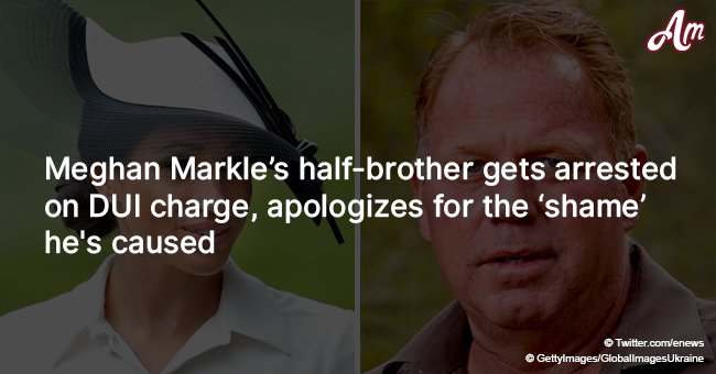 Meghan Markle's half-brother gets arrested on DUI charge, apologizes for the 'shame' he's caused