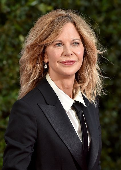 Meg Ryan at TCL Chinese Theatre in Hollywood, California. | Photo: Getty Images.
