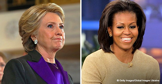 Michelle Obama takes the 'most admired woman' title from Hillary Clinton according to Gallup poll