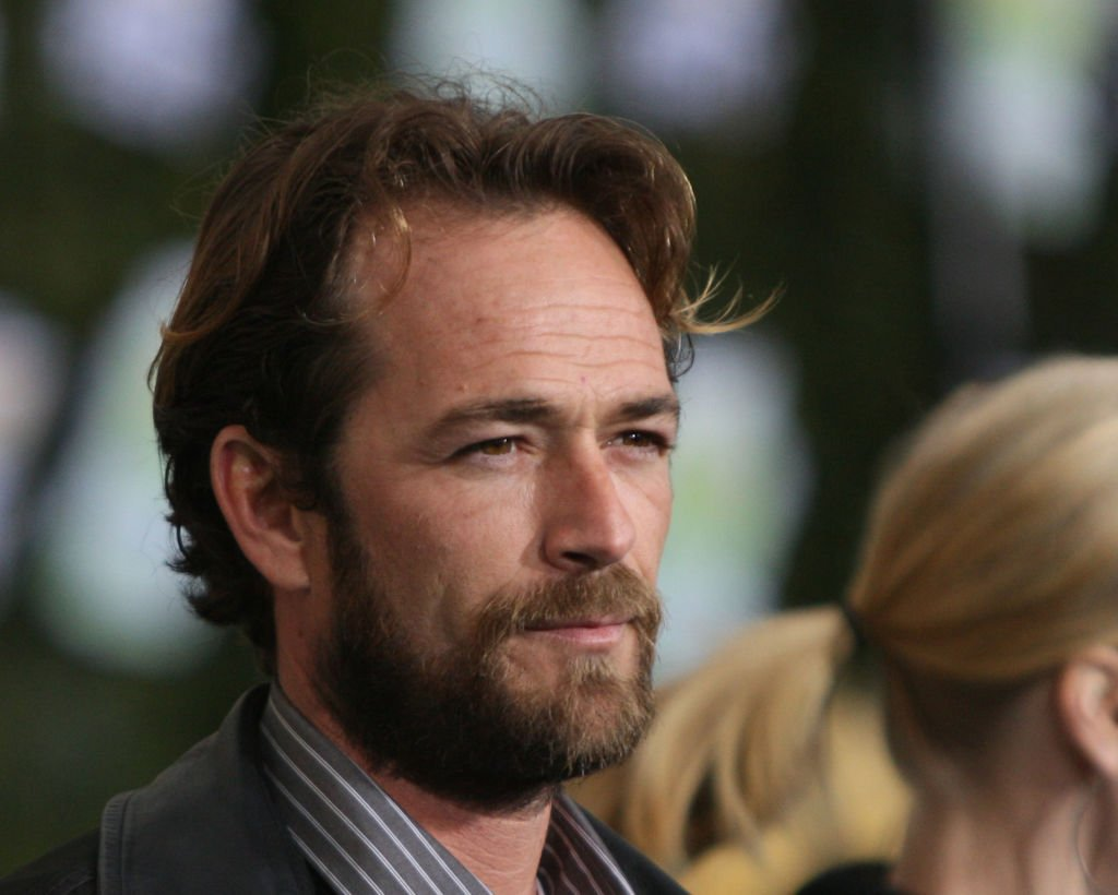 Actor Luke Perry arrives at Chevy Rocks The Future at the Buena Vista Lot at The Walt Disney Studios February 19, 2008 |Photo: Getty Images