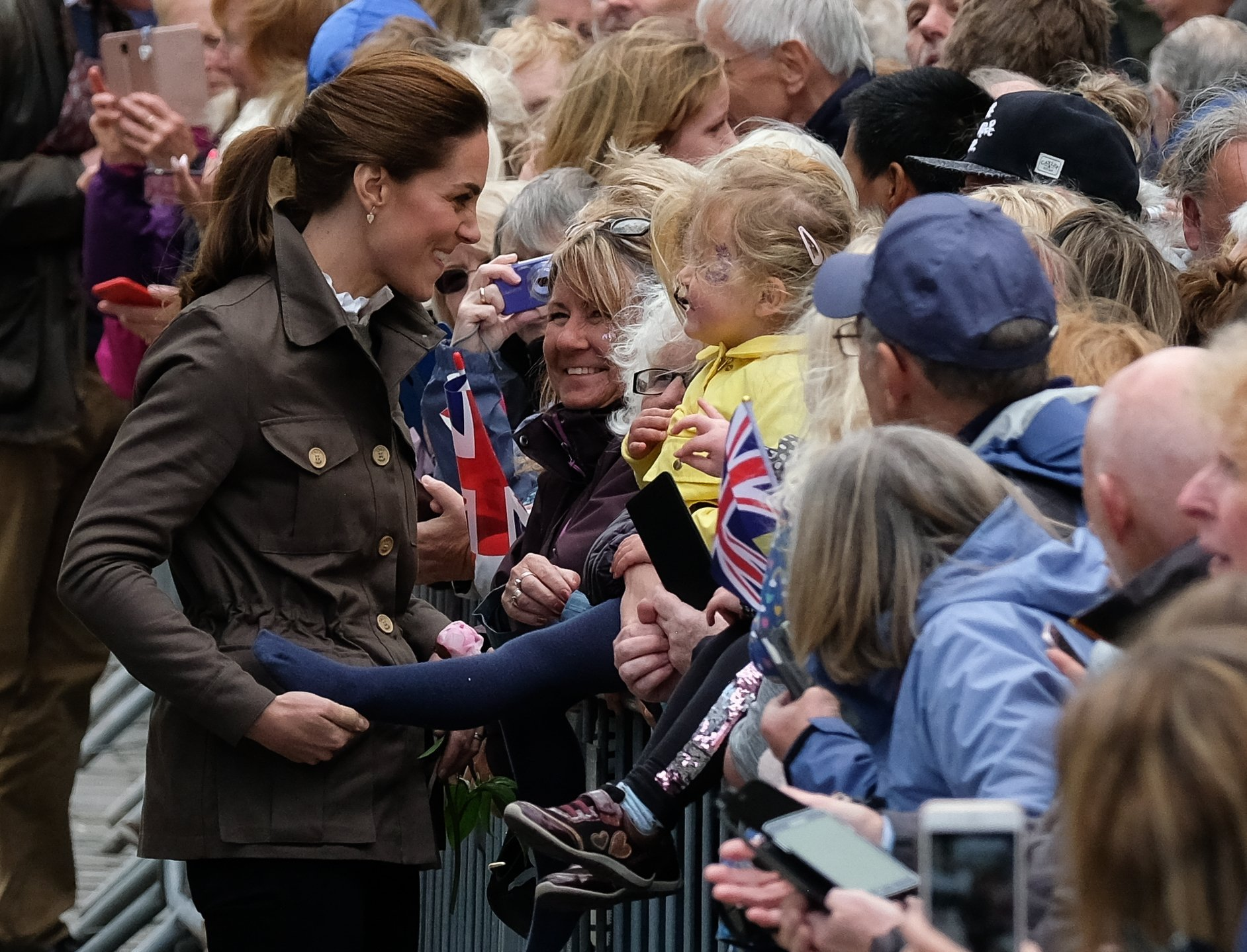 Kate Middleton greets fans at Keswick, Cumbria on June 11, 2019   Photo: Getty Images