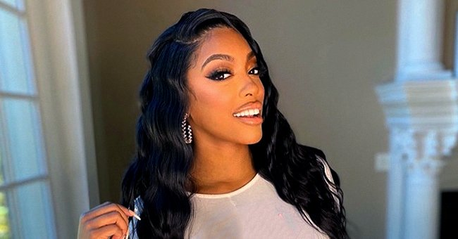 Porsha Williams Talks to Baby Daughter Pilar Jhena While She Plays with Her Doll in a Cute Video