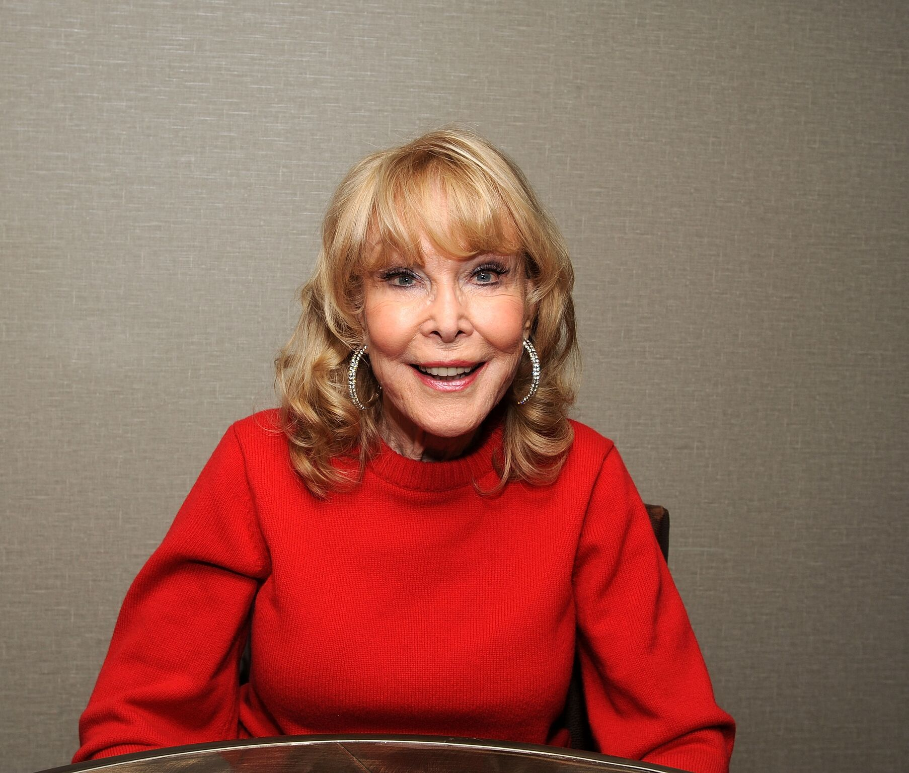 Barbara Eden attends the Chiller Theatre Expo Fall 2018 at Hilton Parsippany | Getty Images