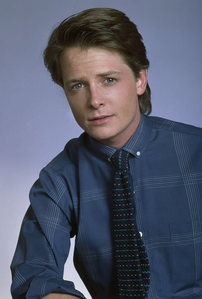 """Actor Michael J. Fox poses during a 1988 Beverly Hills, California, photo portrait session. Fox, a three-time Emmy Award winner for his work on TV's """"Family Ties,"""" also starred in the """"Back to the Future"""" film trilogy.   Source: Getty Images"""