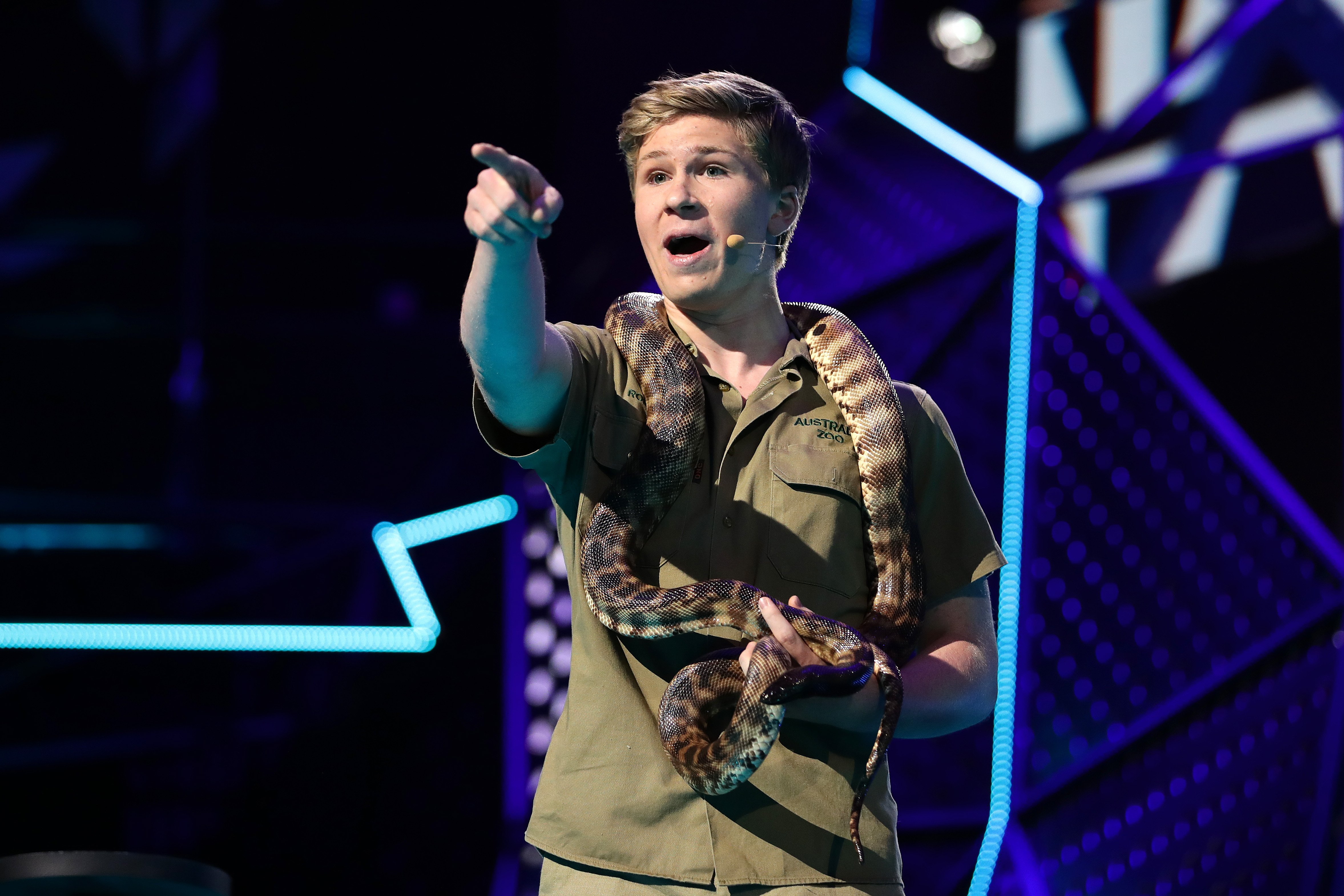 Robert Irwin during the 33rd Annual ARIA Awards 2019 at The Star on November 27, 2019 | Photo: Getty Images