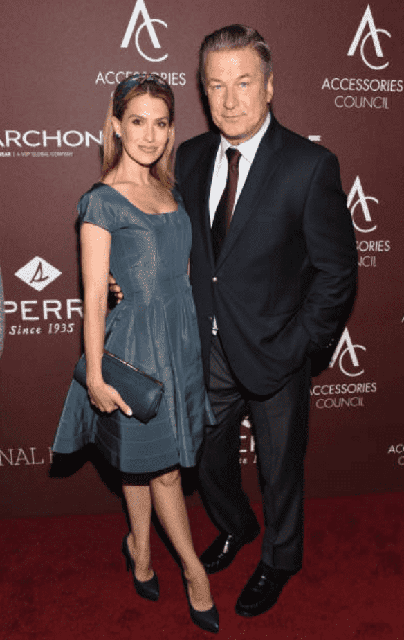 Hilaria Baldwin and Alec Baldwin pose on the red carpet for the 23rd Annual ACE Awards, on June 10, 2019, New York City | Source: Bonnie Biess/Getty Images