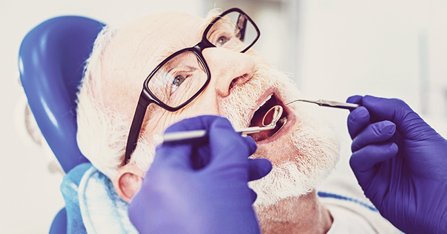 Daily Joke: A Pastor Goes to a Dentist for a Set of False Teeth