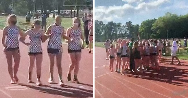 Student-Athlete with Cancer Was Able to Cross the Finish Line with the Help of Her Teammates