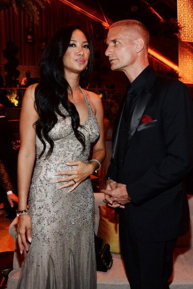 Kimora Lee Simmons and Tim Leissner attend The Weinstein Company & Netflix's 2014 Golden Globes After Party  | Photo: Getty Images