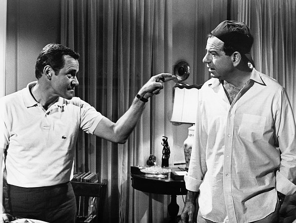 """Jack Lemmon and Walter Matthau in """"The Odd Couple,"""" circa 1968.   Photo: Getty Images"""