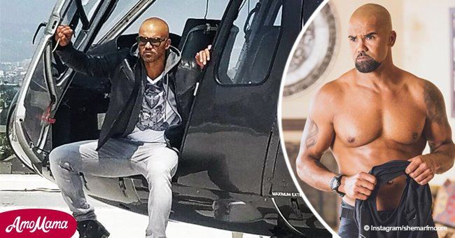 Here's why Shemar Moore quit his modeling career despite a gorgeous appearance