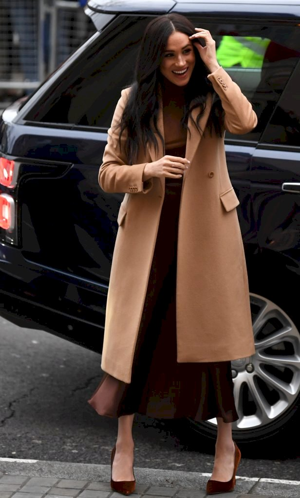 Meghan, Duchess of Sussex arrives for her visit with Prince Harry to Canada House Source | Photo: Getty Images
