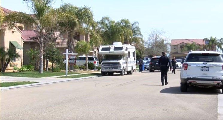 Fresno neighborhood where the attack occurred/ Source: YouTube/ CBS47 KSEE24