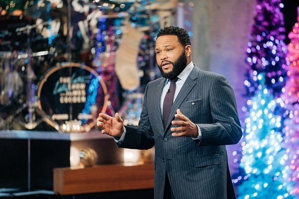 Anthony Anderson guest-hosts The Late Late Show with James Corden airing Wednesday, December 11, 2019.| Photo:Getty Images